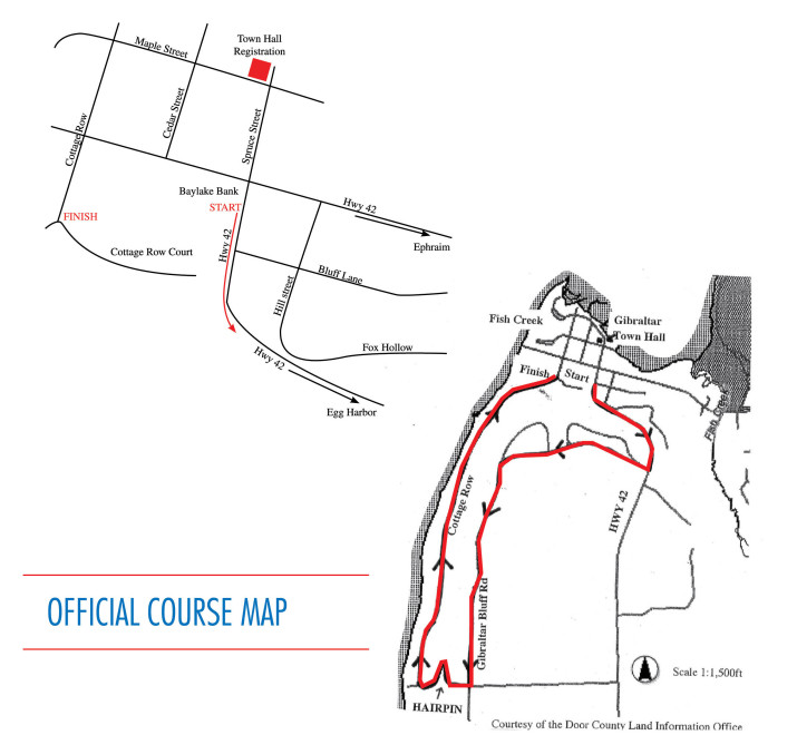 Hairpin Run Map 2016